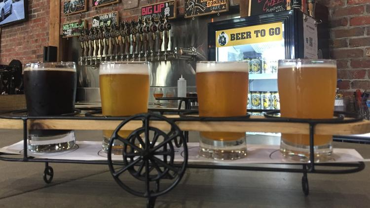Make your way to these Central Florida breweries.