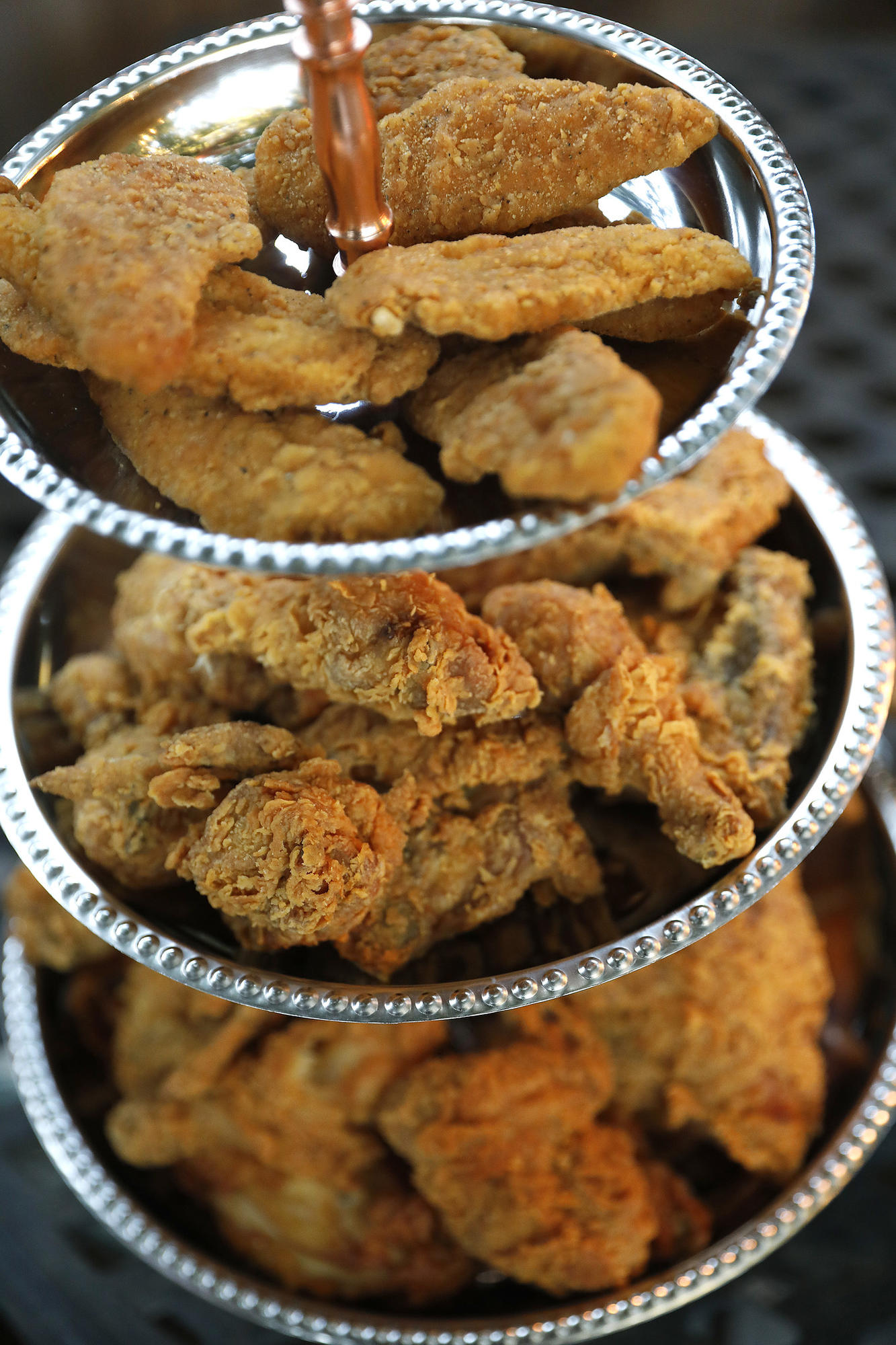 Fried chicken dinner party