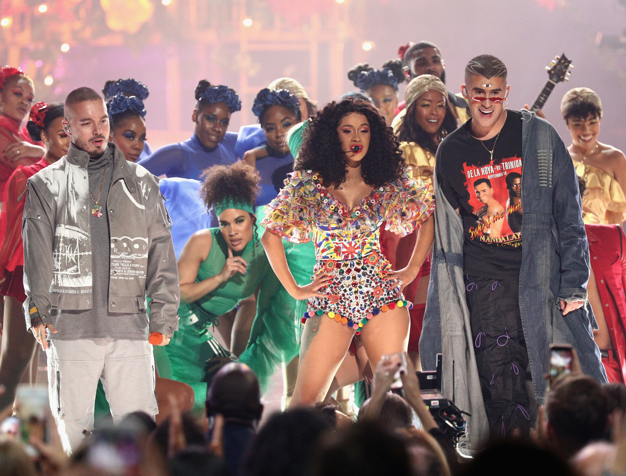 Top Show Moments From The 2018 American Music Awards The Morning Call