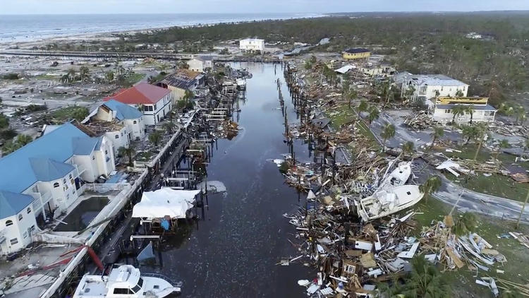 Hurricane Michael pictures: Powerful storm slams Florida Panhandle