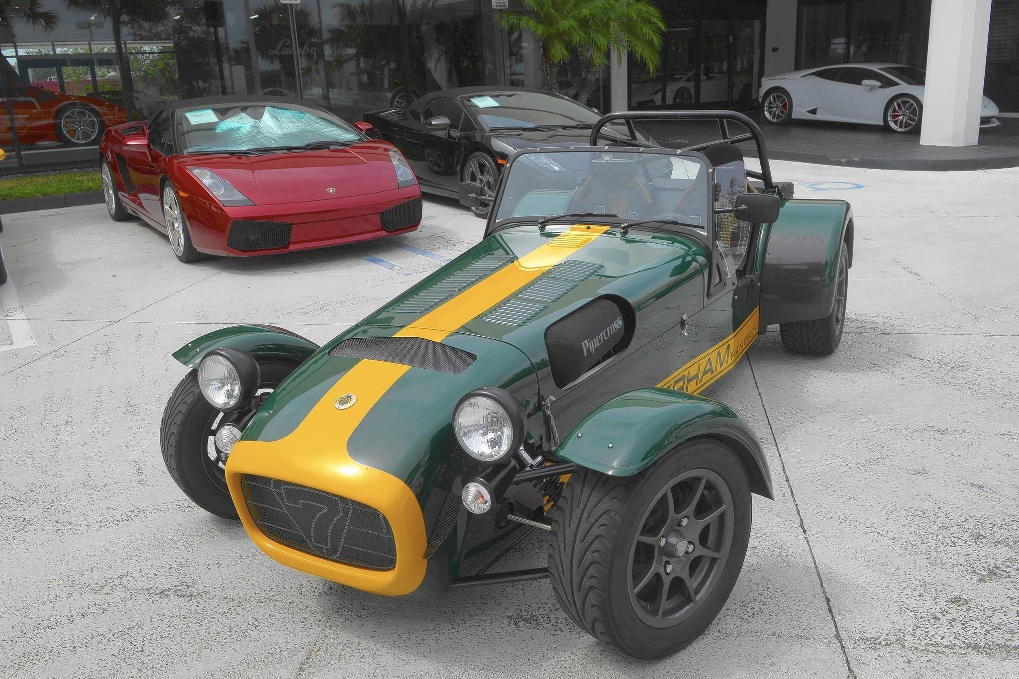 Caterham Sports Car Now Sold At Lamborghini Palm Beach Sun Sentinel