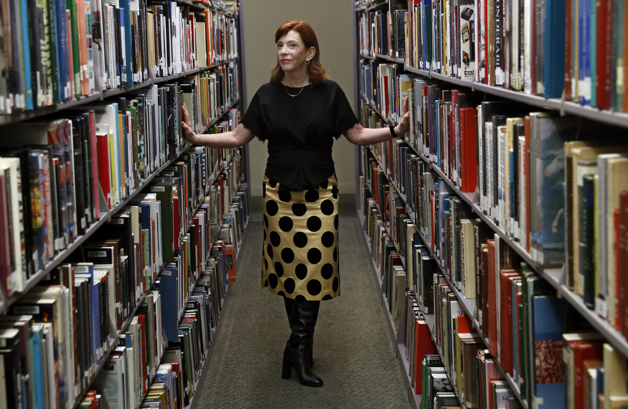 Susan Orlean at L.A.'s Central Library.