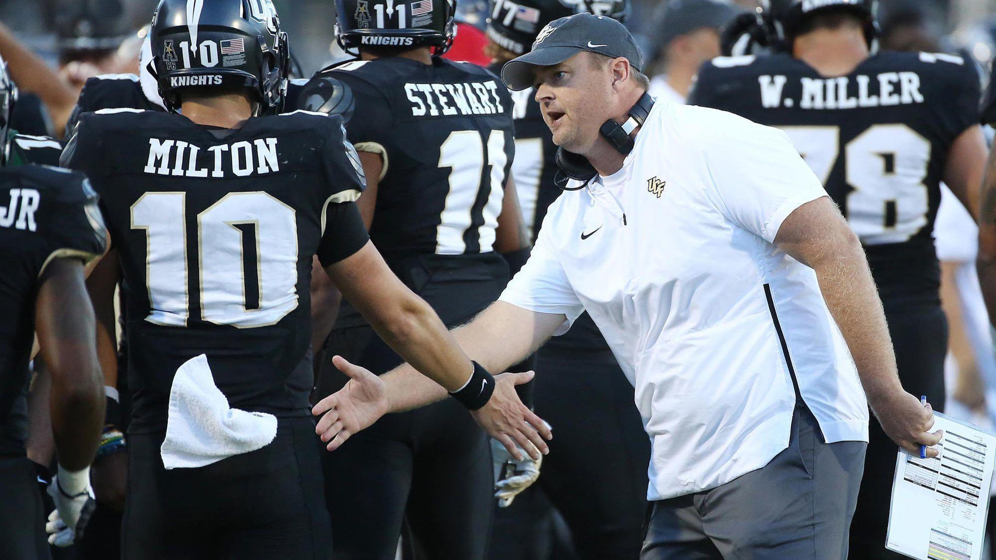 UCF coach Josh Heupel on getting fired by Oklahoma: Thank ...