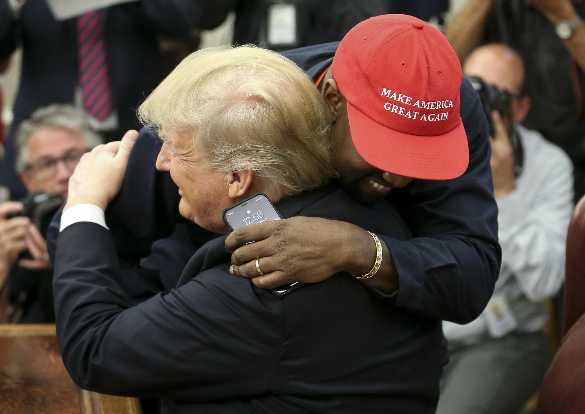 5212f4ed88f70 Kanye and Trump talk Chicago