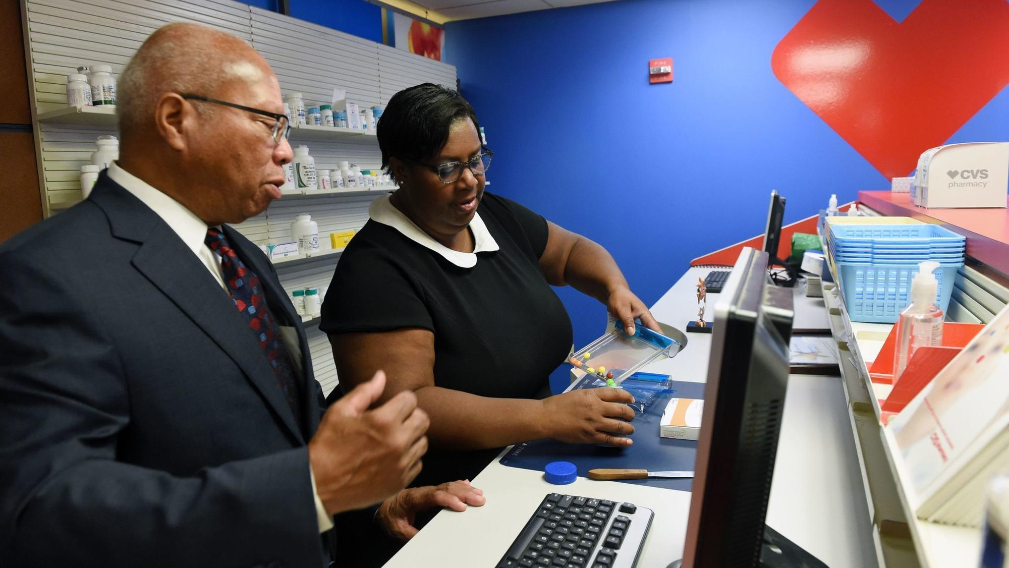 cvs health and goodwill offer workforce training at  u0026 39 mock u0026 39  pharmacy in baltimore