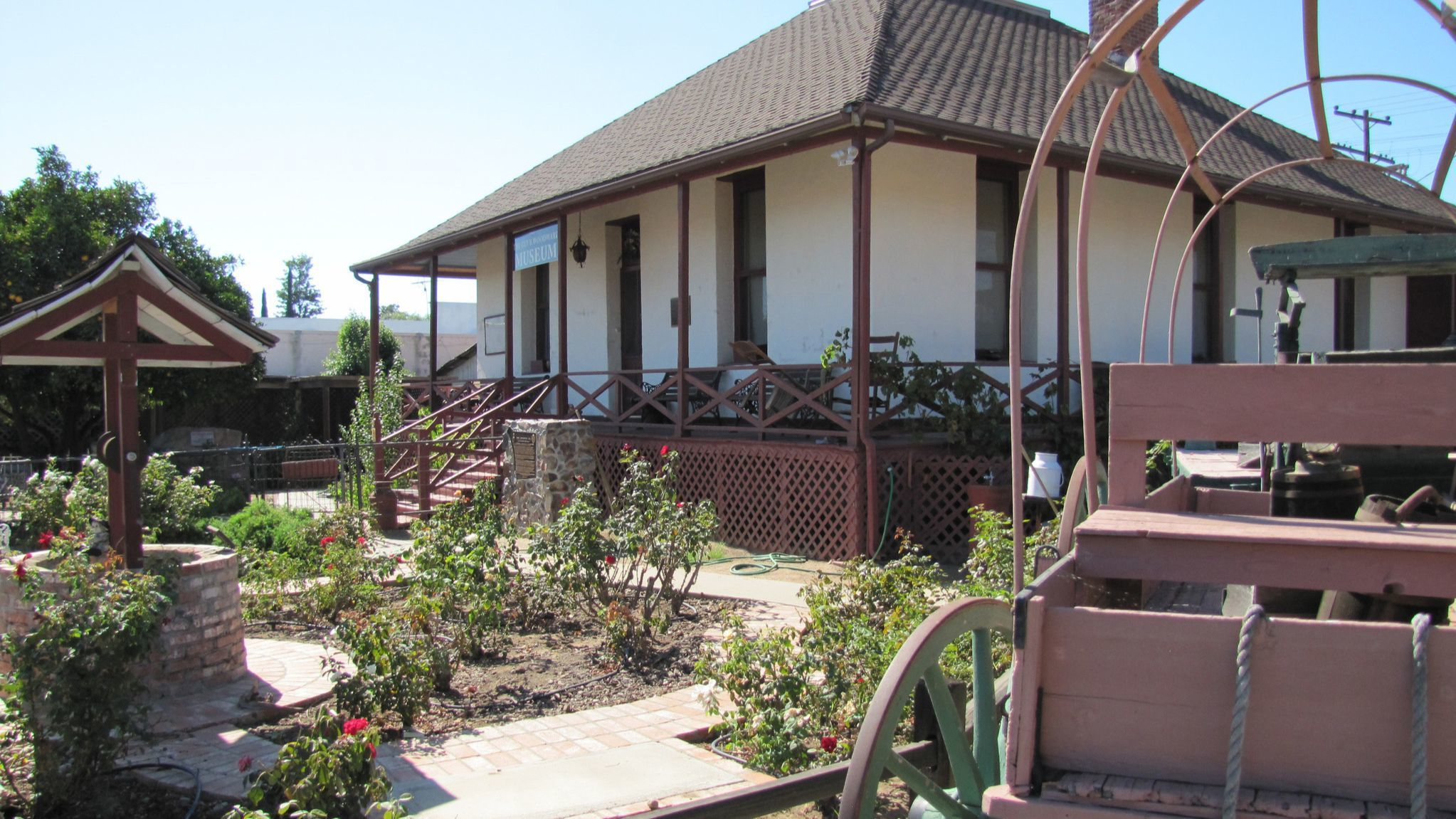 The Guy B. Woodward Museum is home to the Ramona Pioneer Historical Society.
