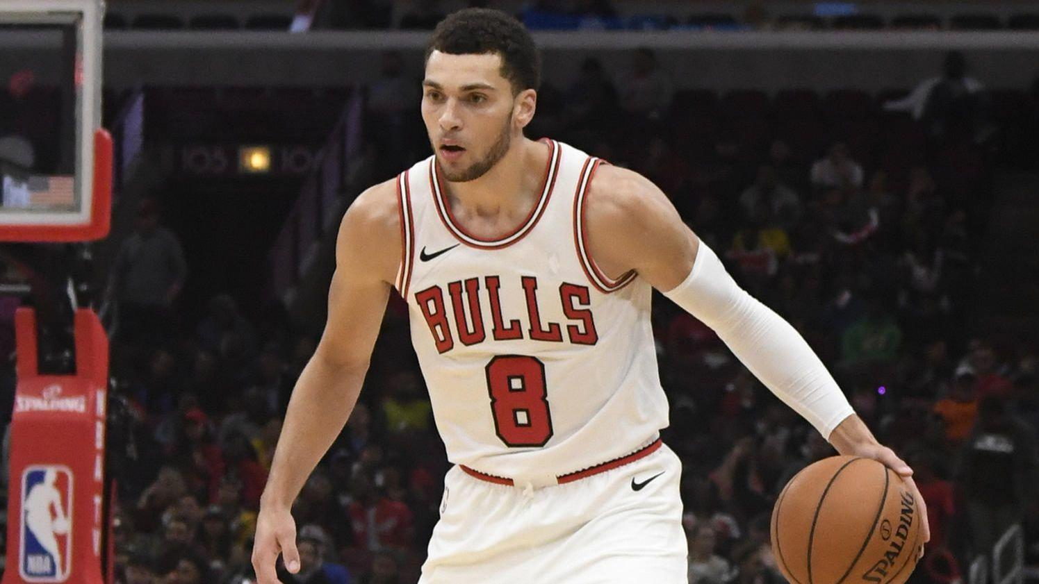Zach LaVine offers support for former teammates Karl ...