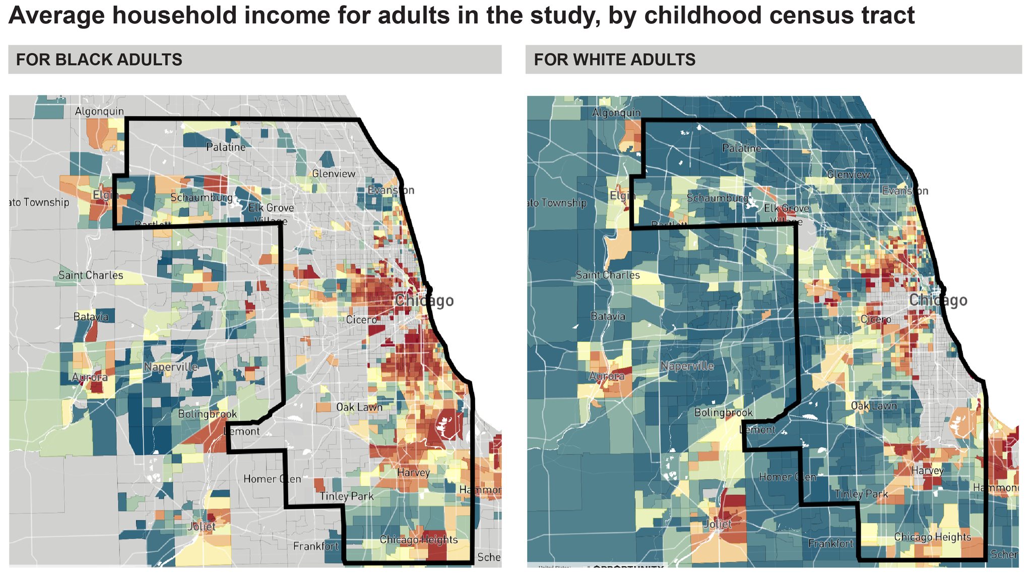 Opportunity Atlas Maps Out Areas Of Opportunity Poverty In Chicago