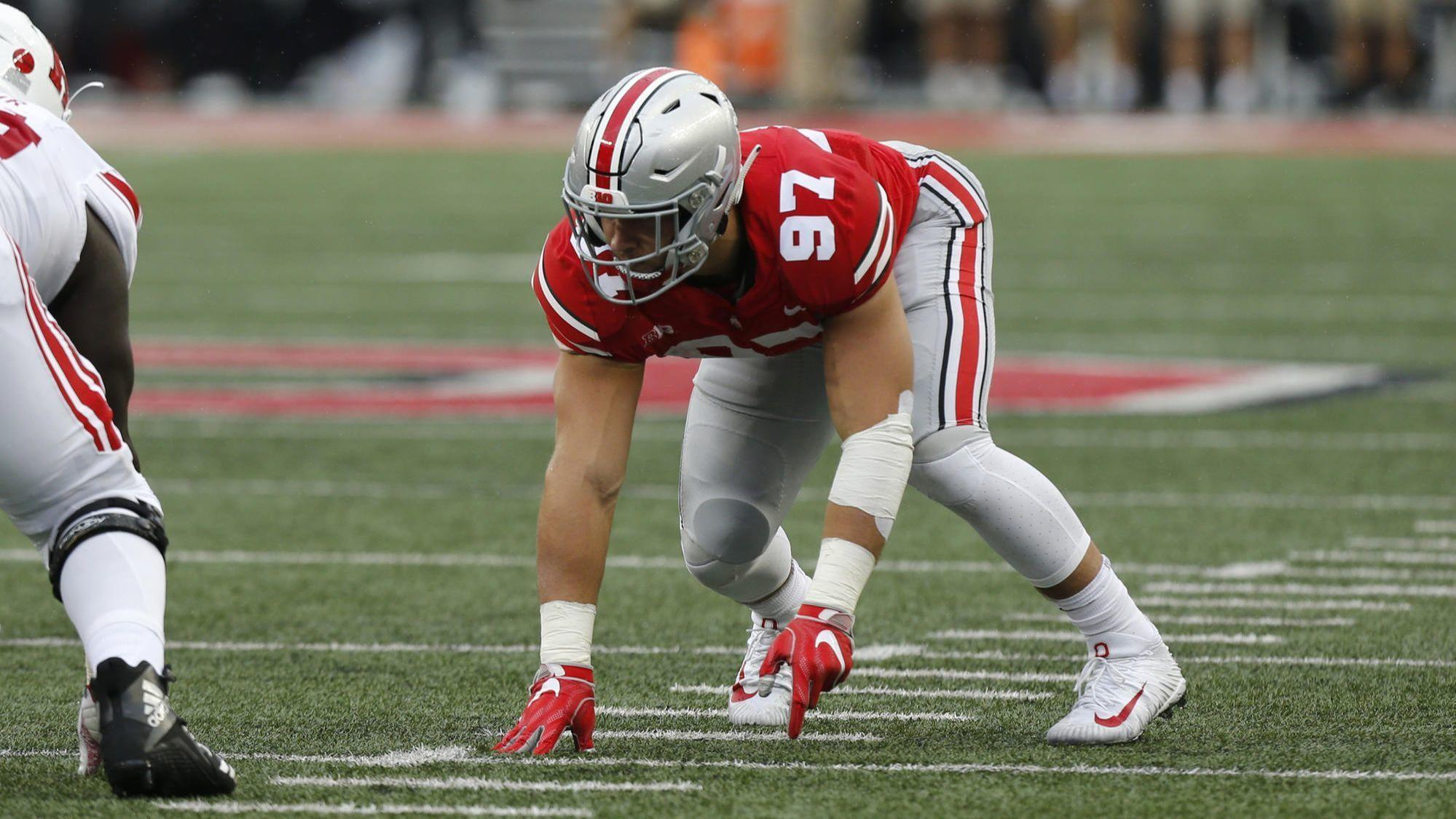 Image result for nick bosa ohio state