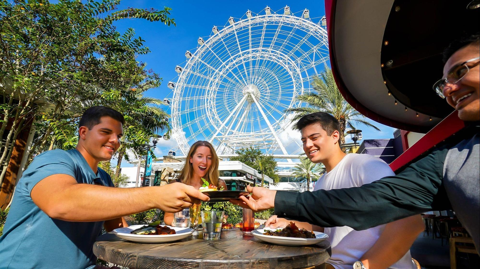 Icon Orlando S Fly Amp Dine Deal Incorporates Nearby