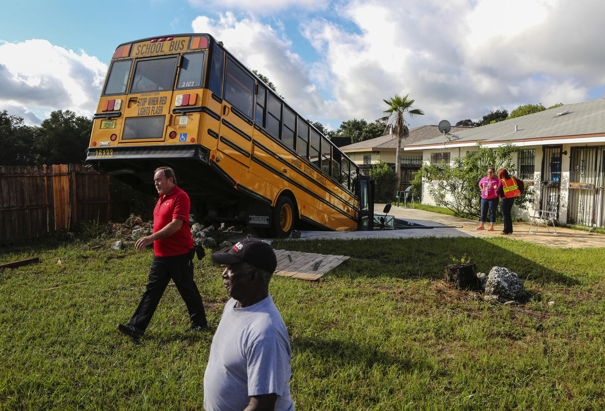 Both Drivers Ticketed In Crash That Sent School Bus Into