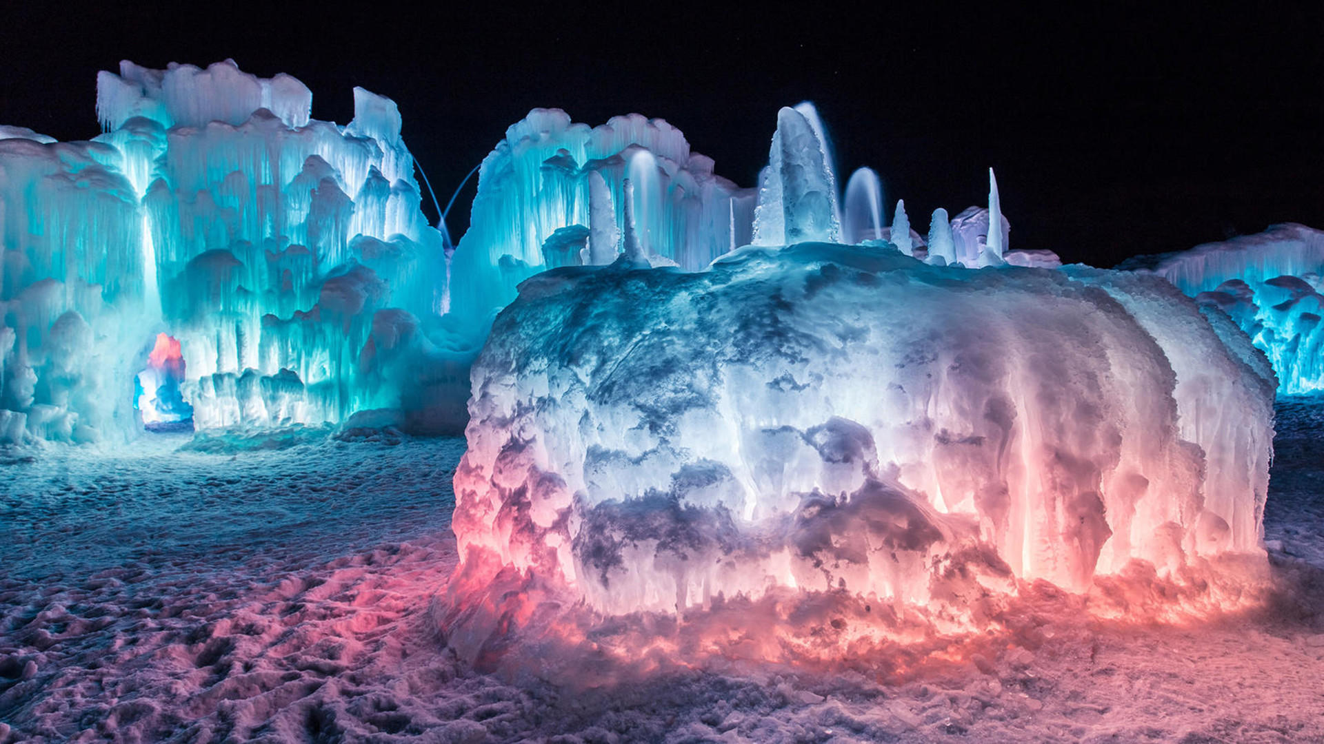 Instagrammers Get Ready A Picturesque Ice Castle Is