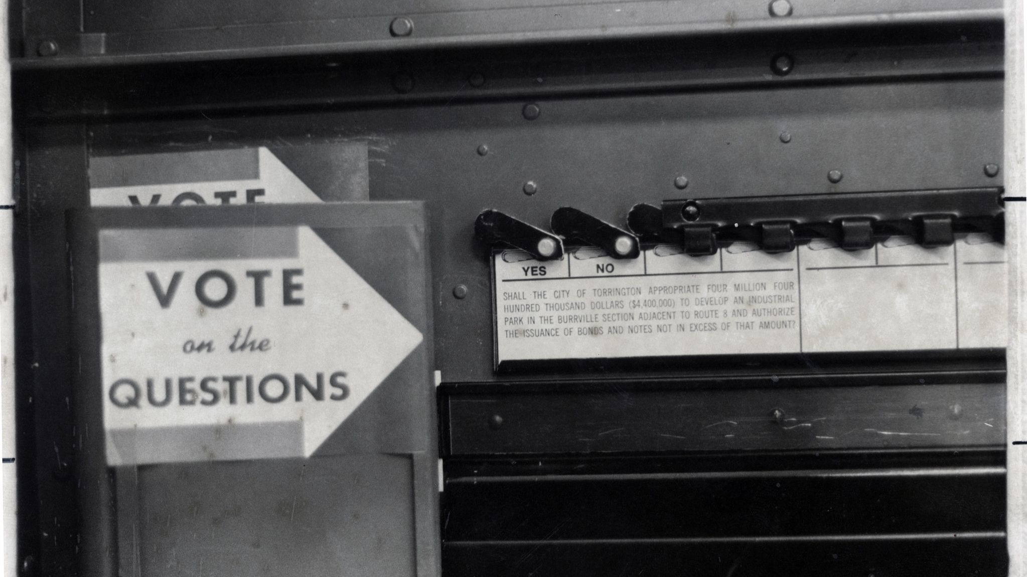 Voting In Connecticut, Then And Now