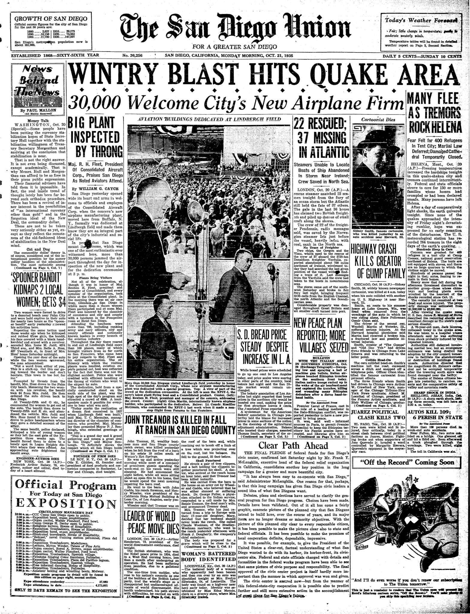 October 21, 1935