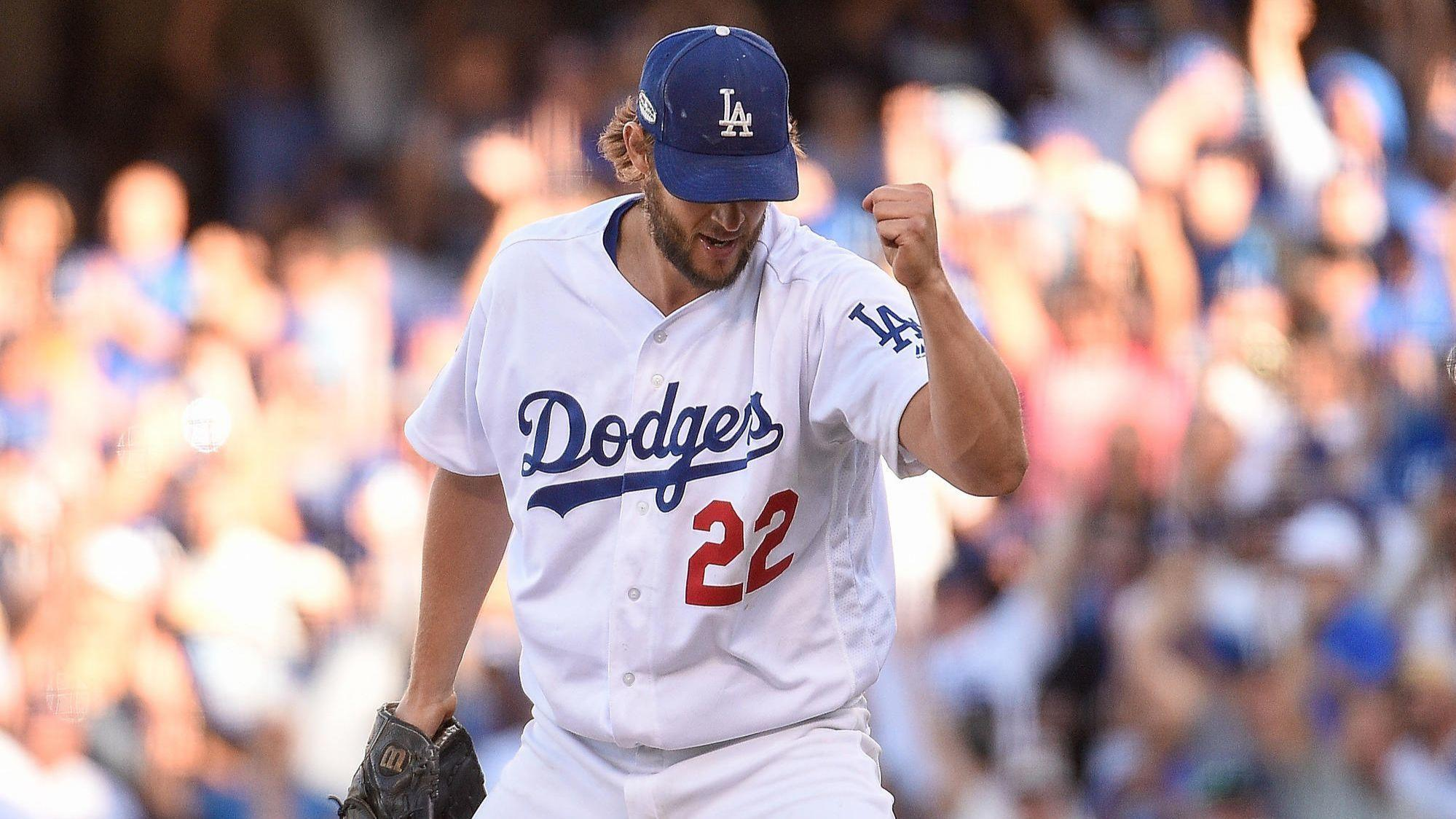 Dodgers step closer to World Series, top Brewers in NLDS Game 5 behind dominant Clayton Kershaw