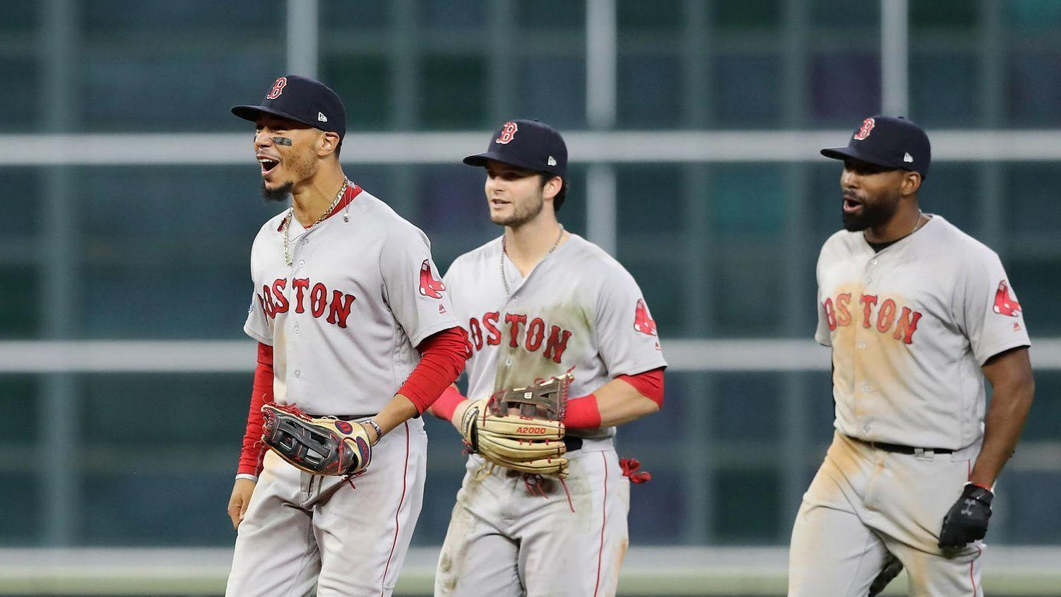 Andrew Benintendi's diving catch seals Red Sox's Game 4 win in ALCS