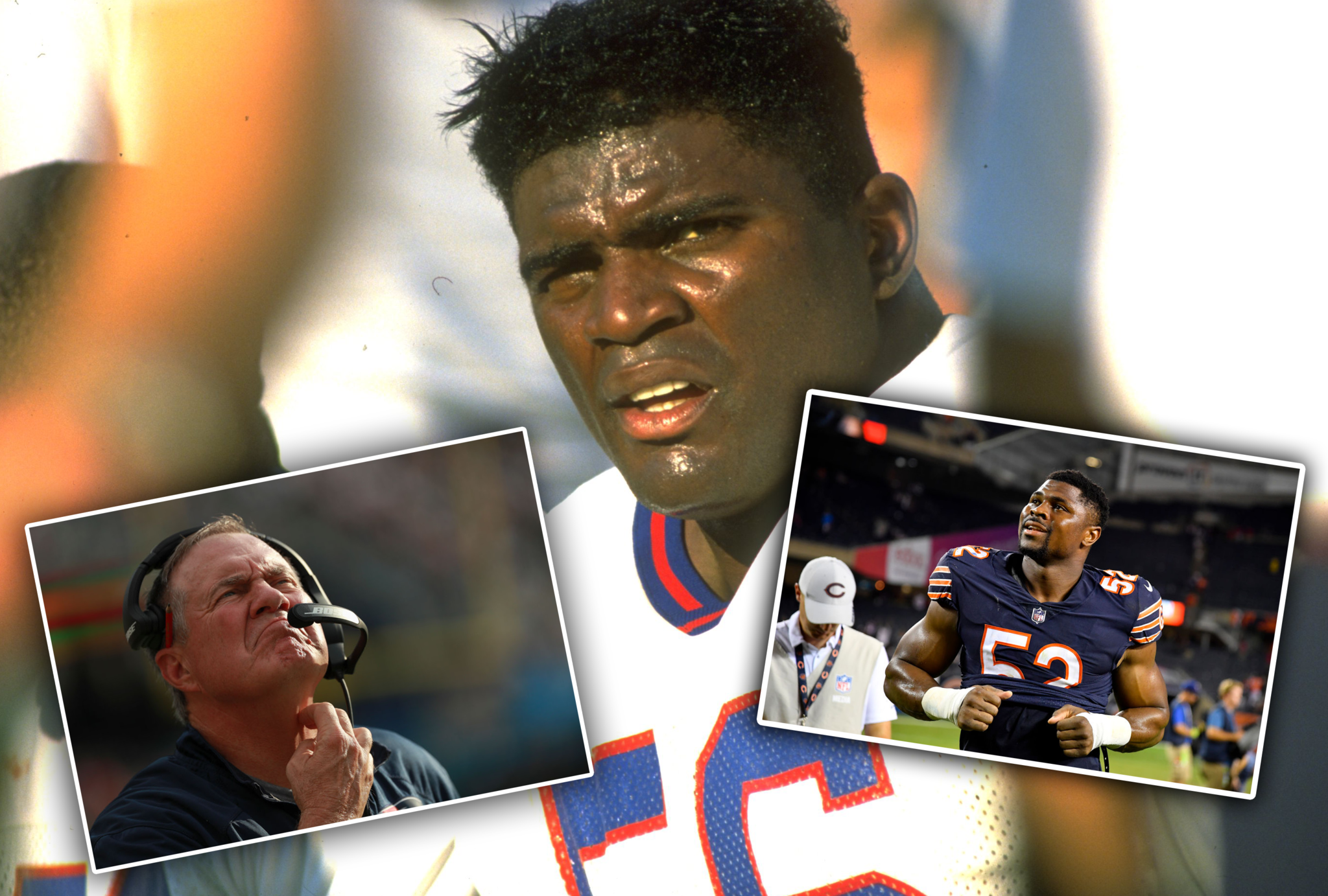 Bill Belichick doesn't want to hear your Khalil Mack, Lawrence Taylor comparison...