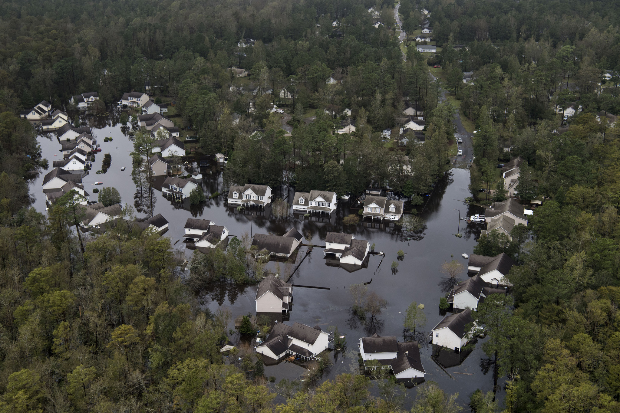 In North Carolina, hurricanes convince some Republicans that climate change is r...