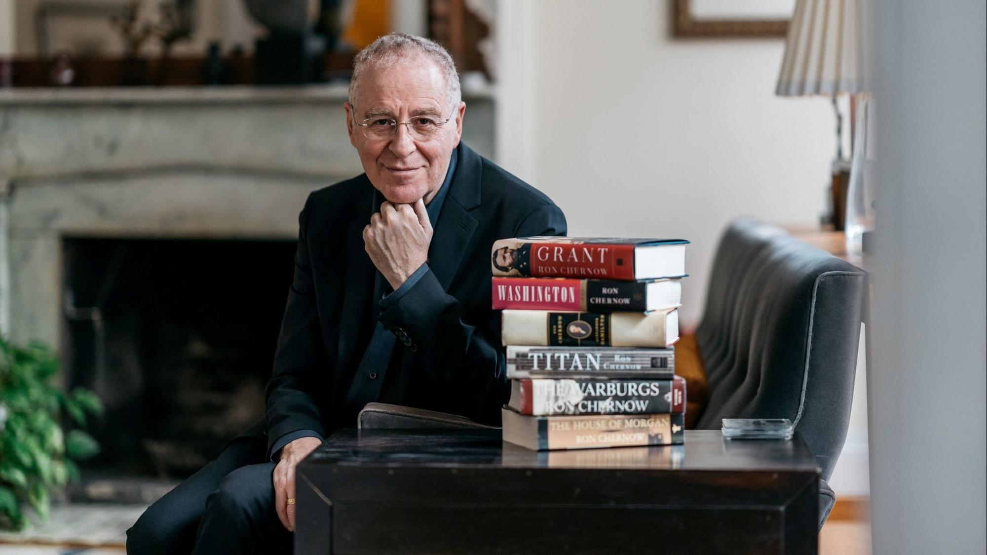 A chat with Ron Chernow, America's biographer and winner of the 2018 Tribune Lit...