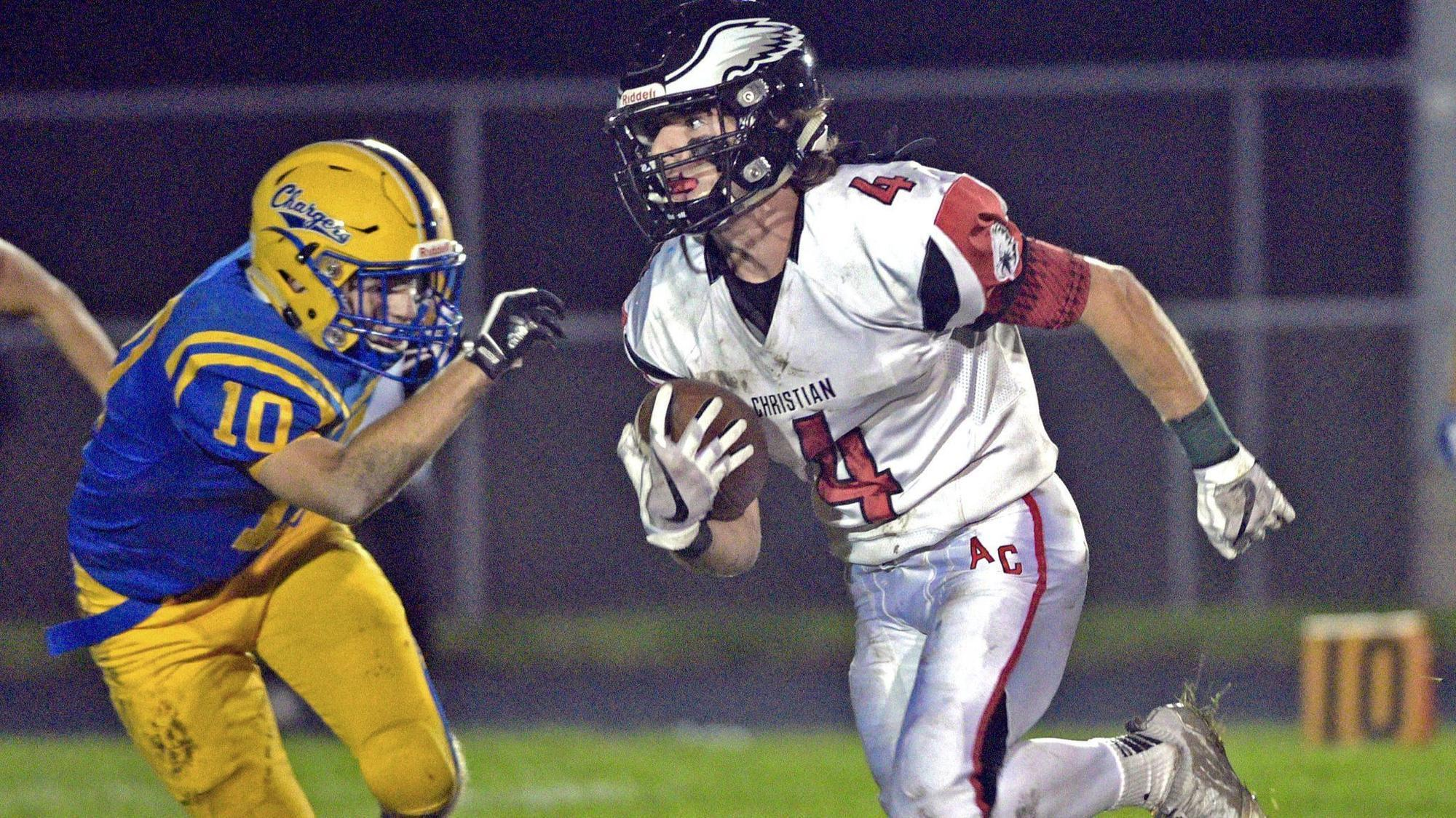 Football notes: Trey Madsen puts up big numbers that add up for playoff-bound Au...