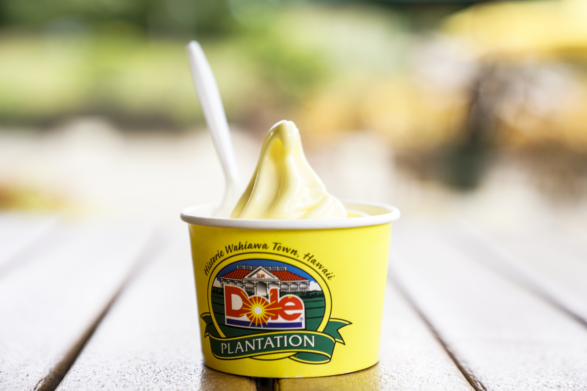 WAIHIAWA, HI - AUGUST 21: Dole Whip, photographed at Bogert's Cafe on Tuesday, Aug. 21, 2018 in Hono