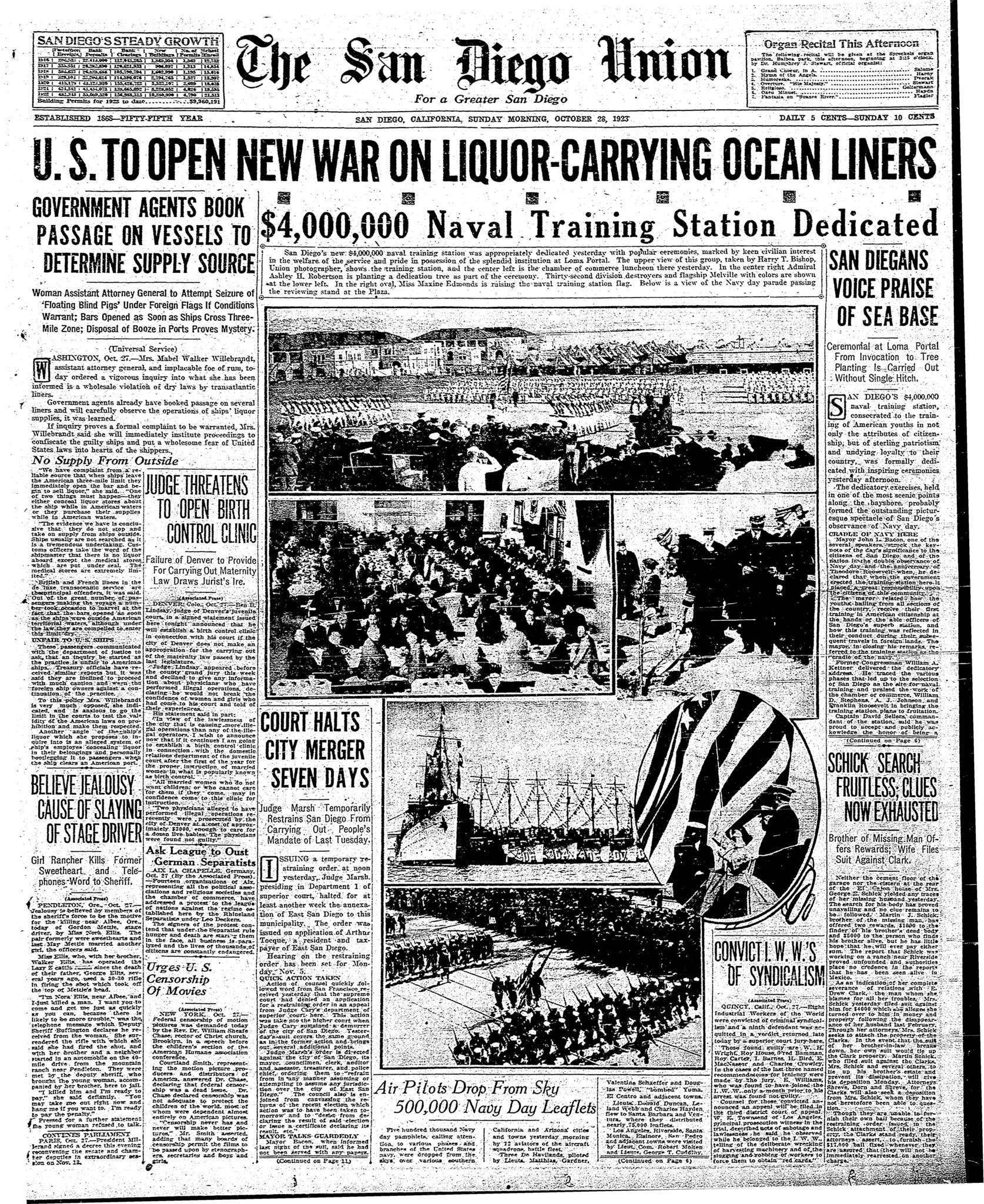October 28, 1923