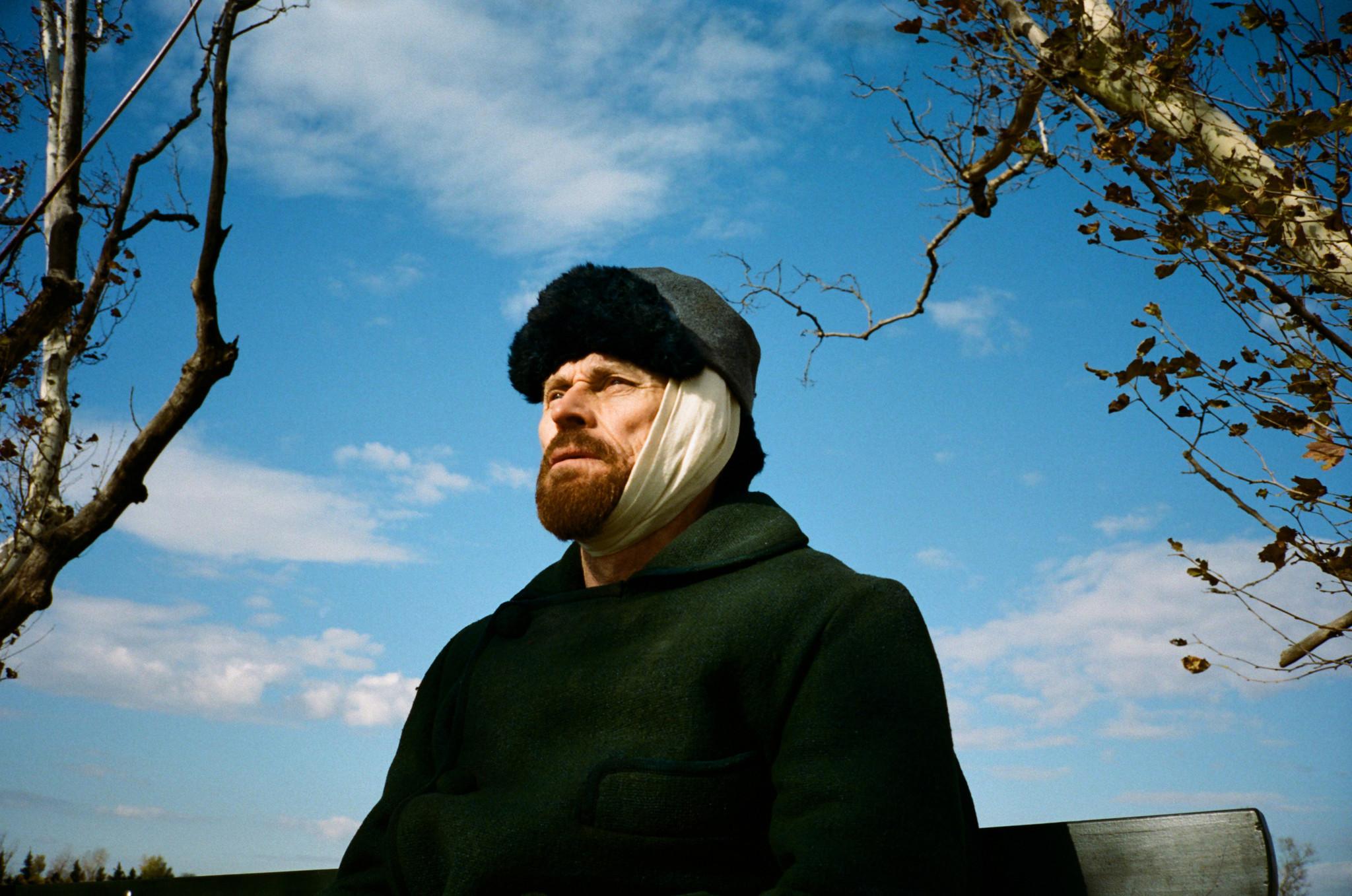 Willem Dafoe as Vincent Van Gogh in Julian Schnabel's