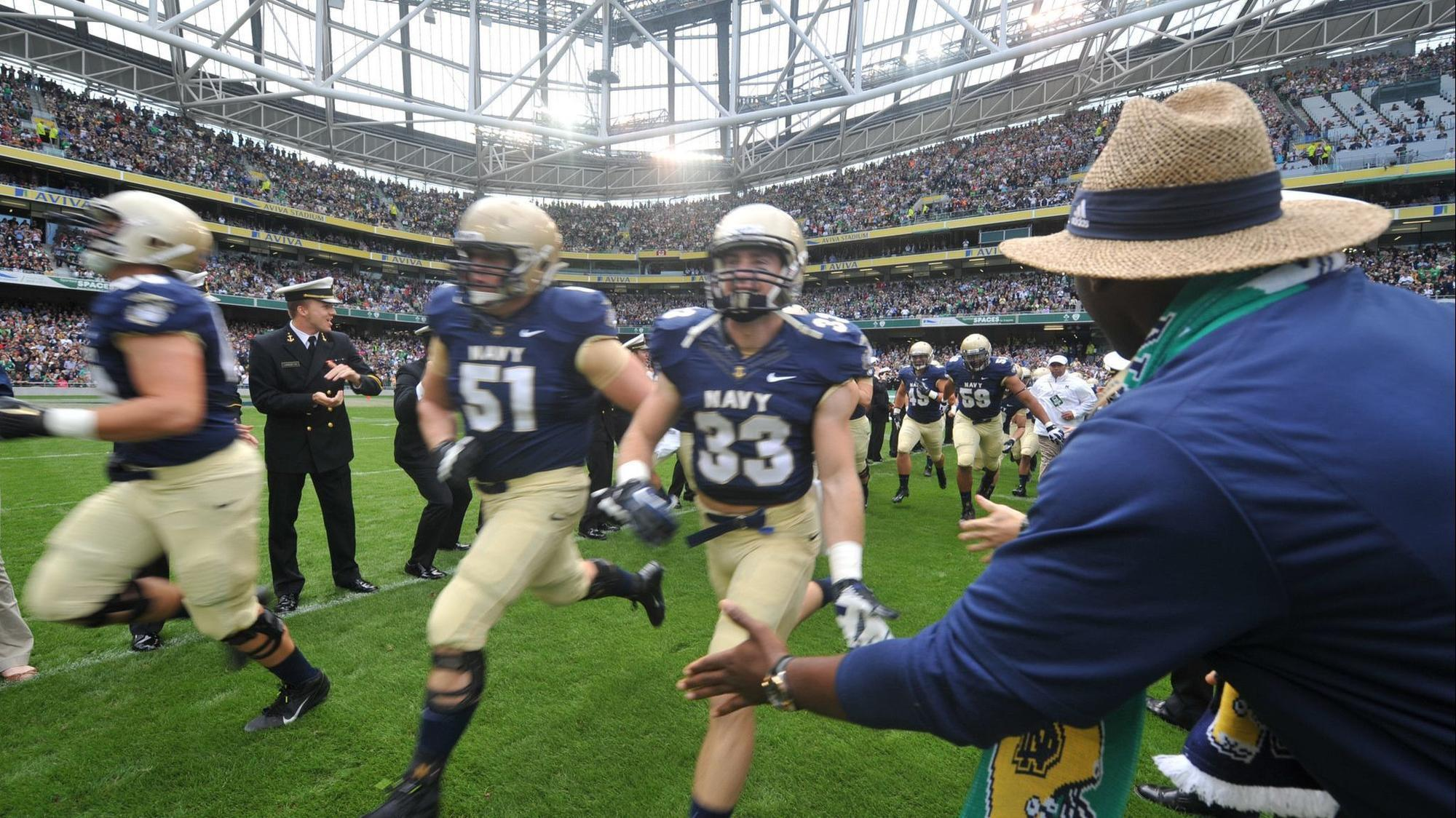 2020 Navy-Notre Dame game to be held in Dublin 346e731d7