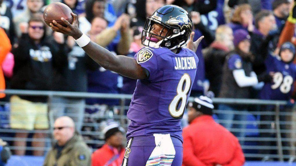 Ravens QB Lamar Jackson relishes limited opportunities as he nears midpoint  of rookie season - Baltimore Sun bc1ea9e11