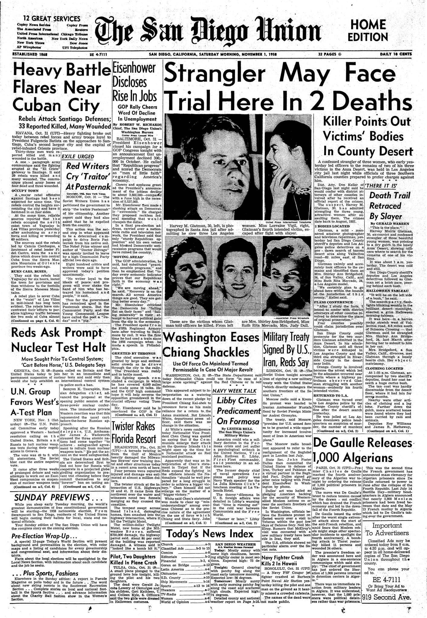 November 1, 1958