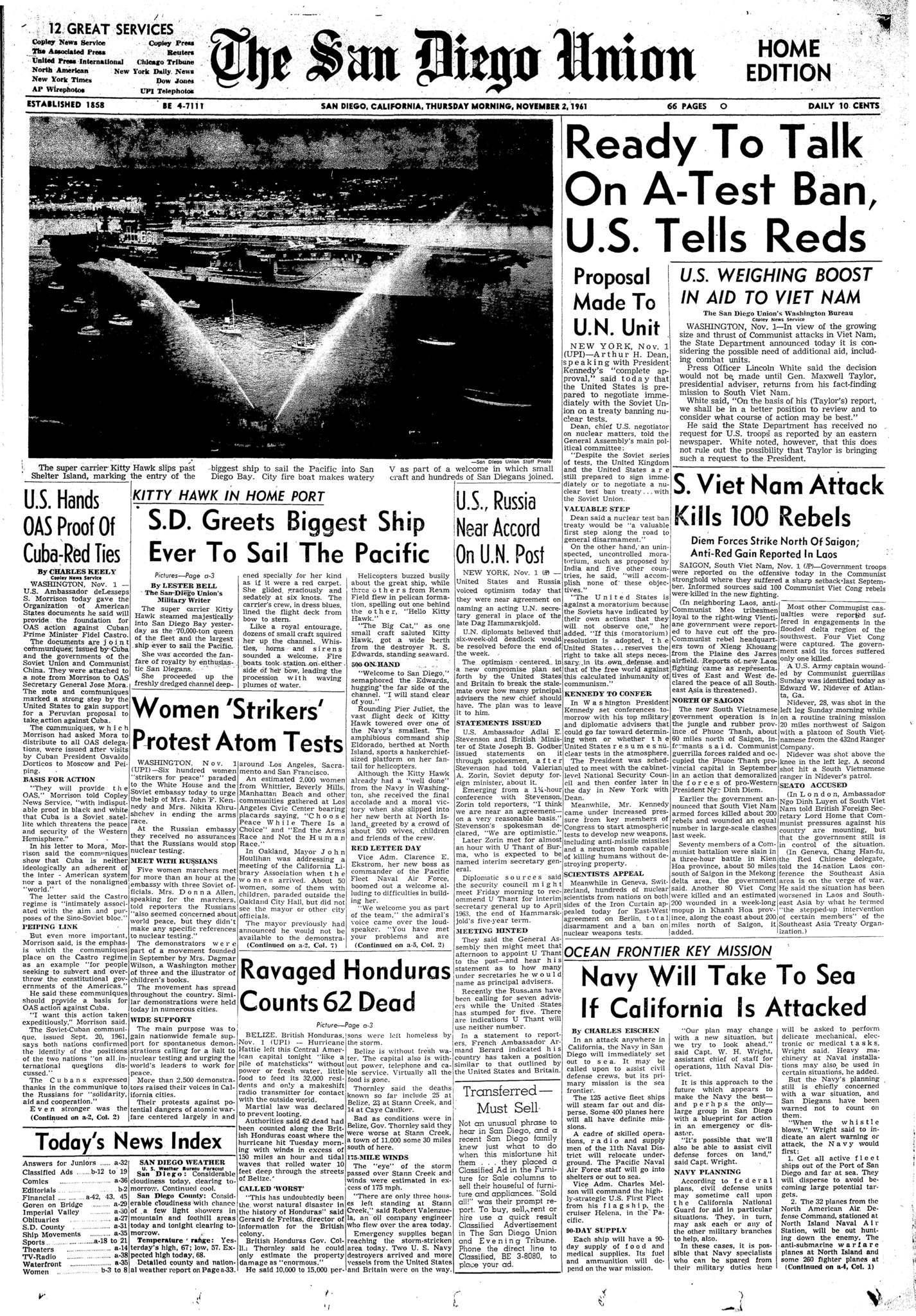 November 2, 1961