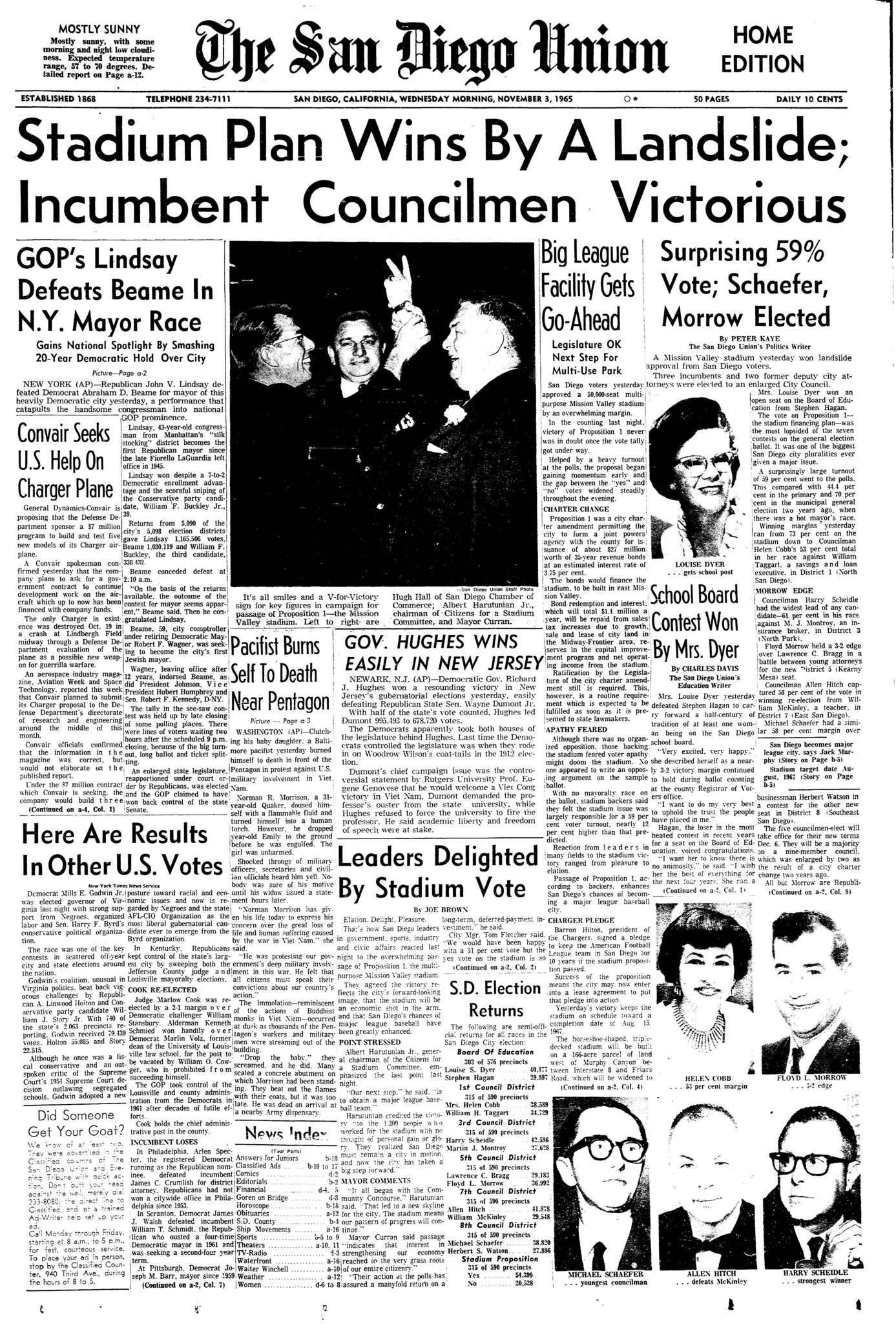 November 3, 1965