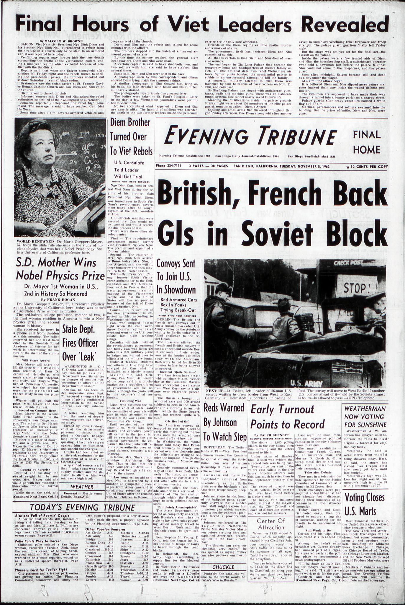 November 5, 1963