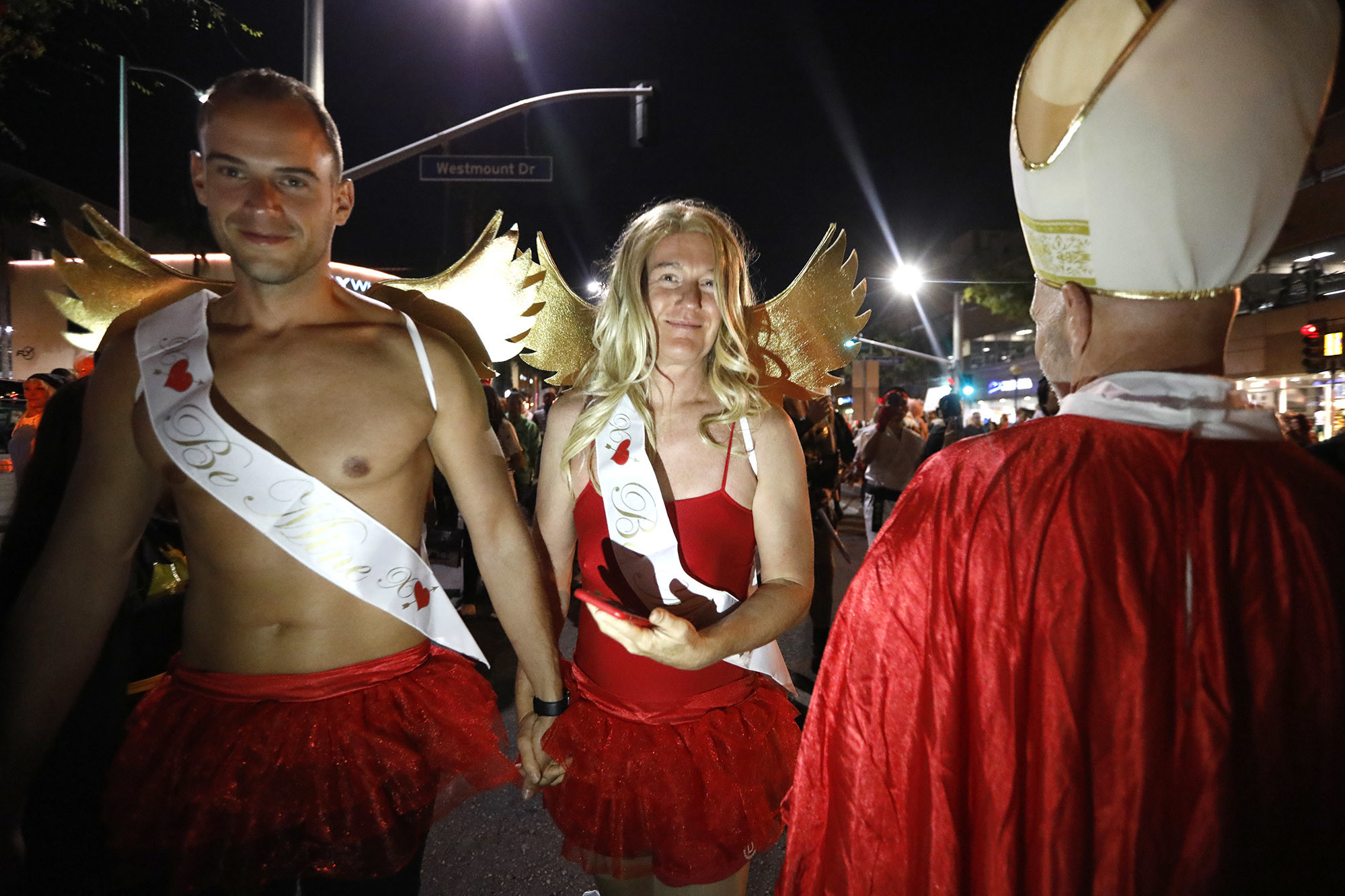 "WEST HOLLYWOOD, CA Ð OCTOBER 31, 2018 - - Costumed revelers participate in the annual, ""Halloween Ca"
