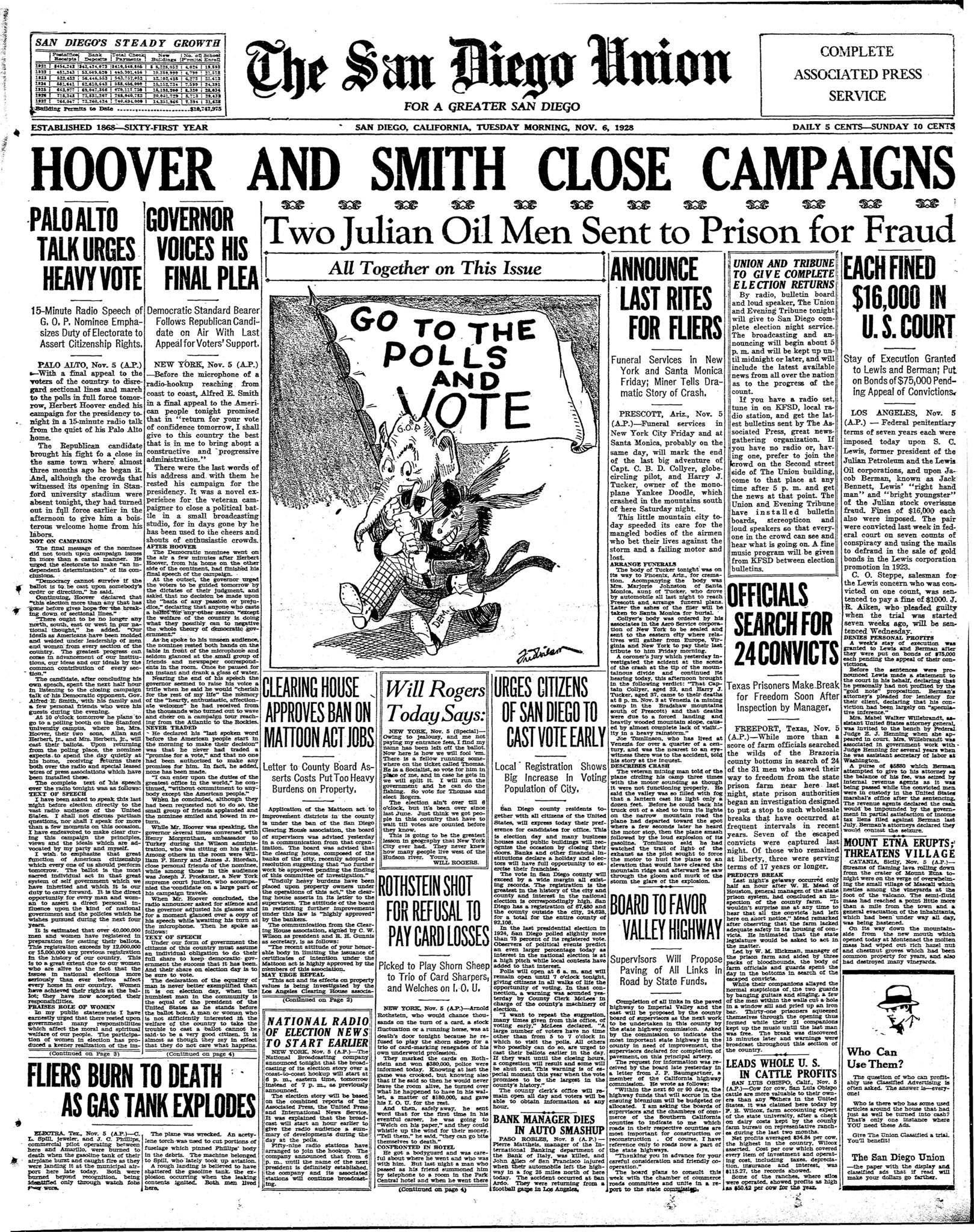 November 6, 1928