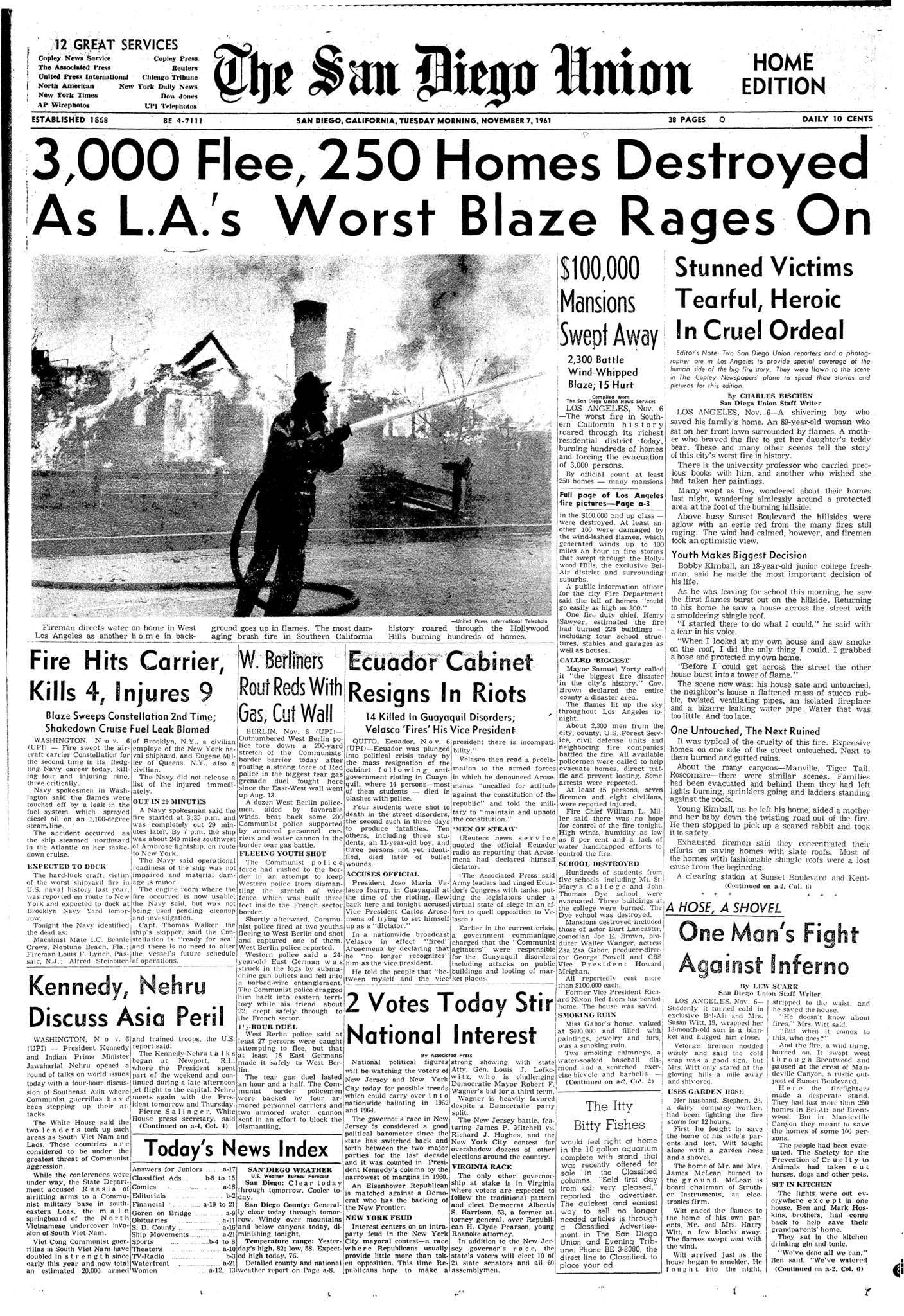 November 7, 1961