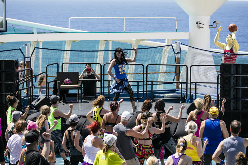 Fitness on the high seas