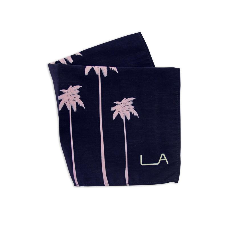 Palm-print scarf