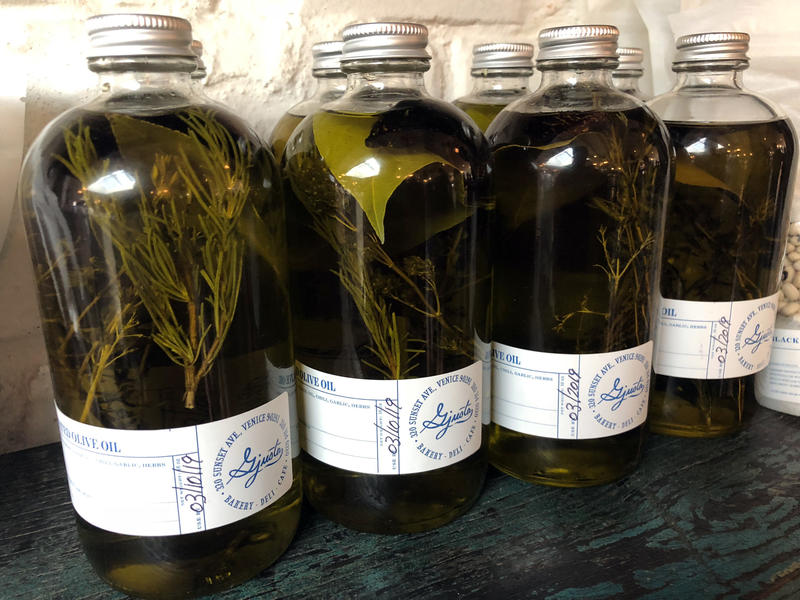 Olive oil from Gjusta