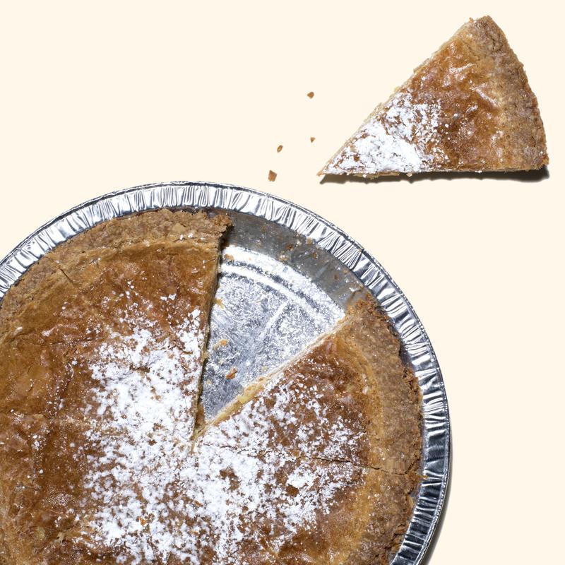 Crack pie from Milk Bar