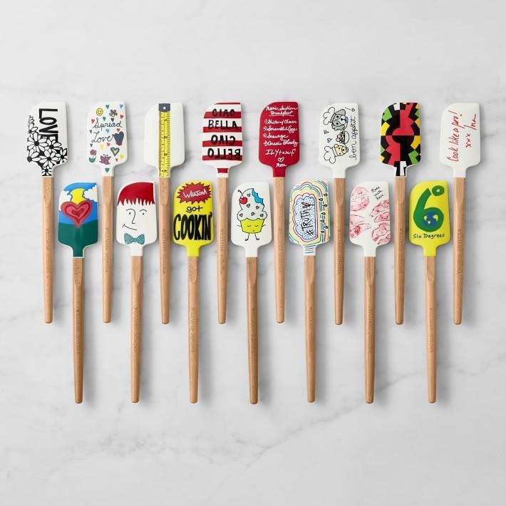 Celebrity spatulas