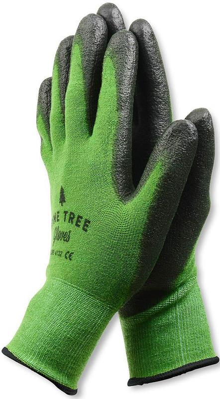 Touchscreen-friendly gardening gloves