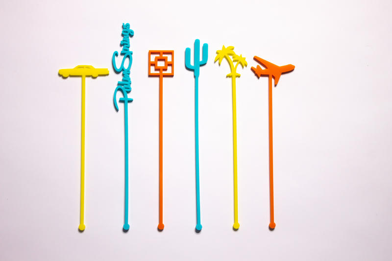 California Lustre drink stirrers