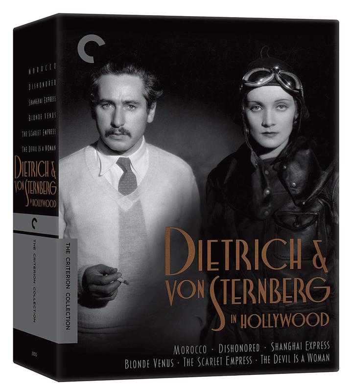 Dietrich and von Sternberg in Hollywood