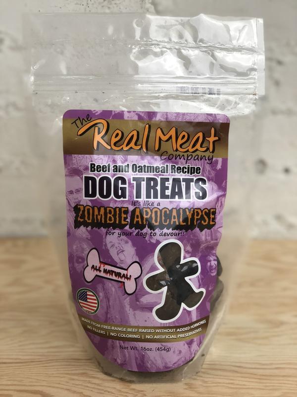 Zombie Apocalypse Dog Cookies