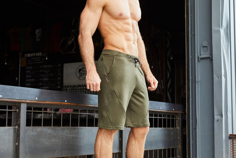 Five-star gym shorts