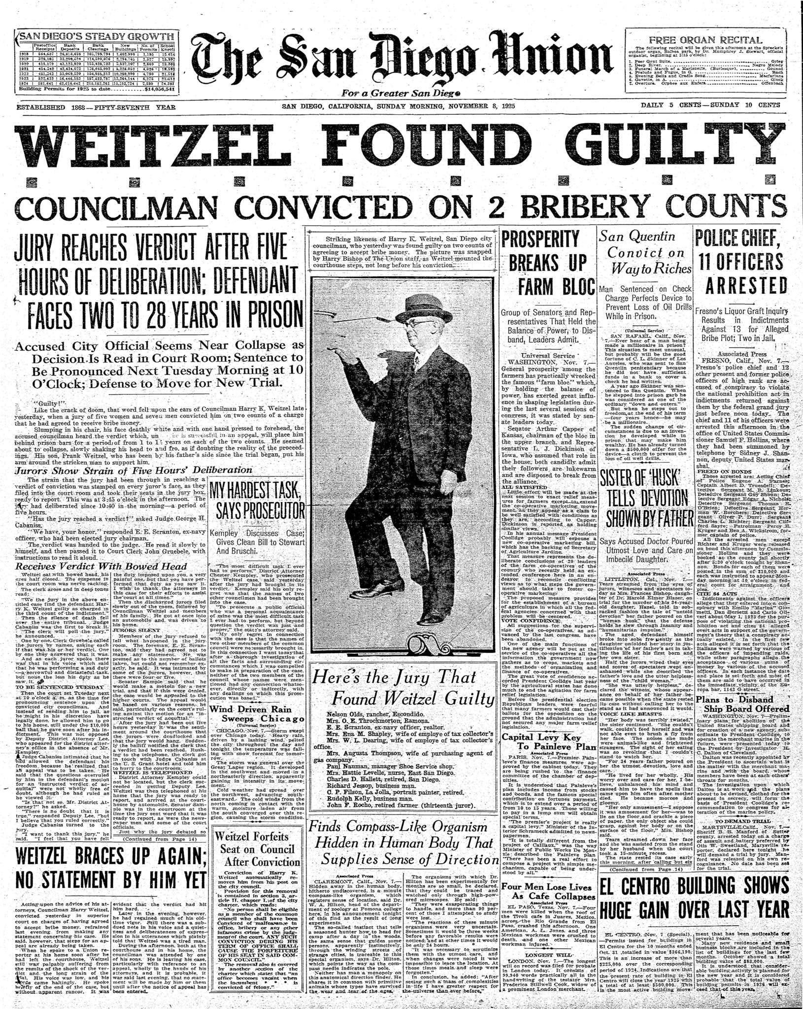 November 8, 1925