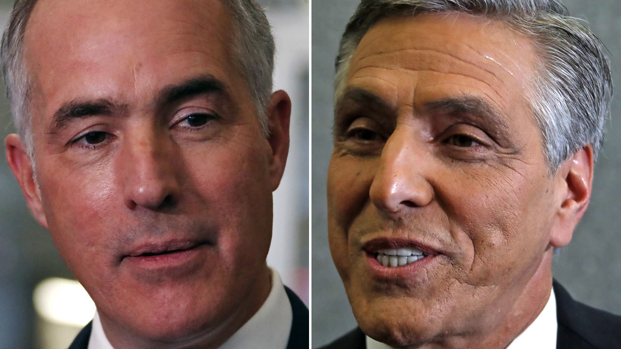 Bob Casey and Lou Barletta