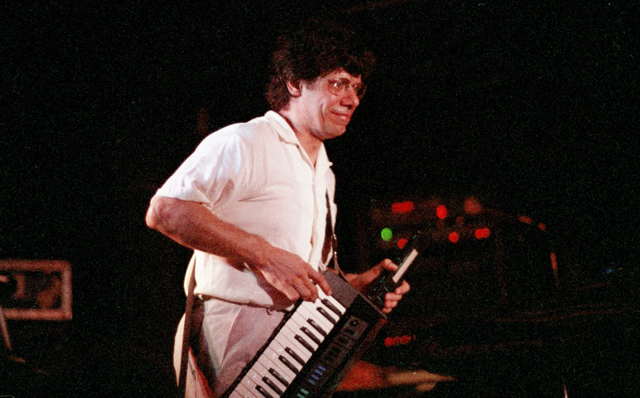 Chick Corea performs at Elario's on April 16, 1985.