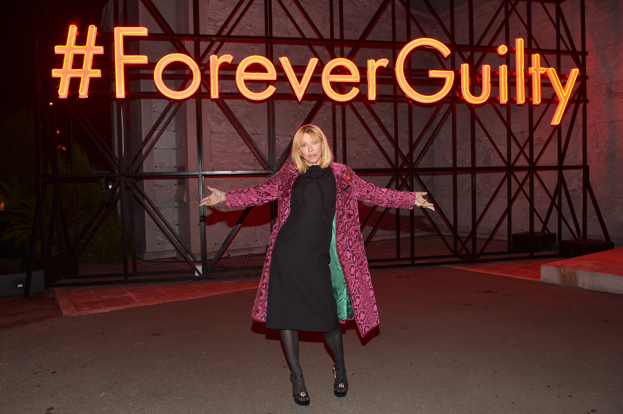 Gucci Guilty at the Hollywood Forever Cemetery